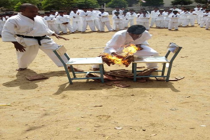 Sri Vinayaga International School-Karate