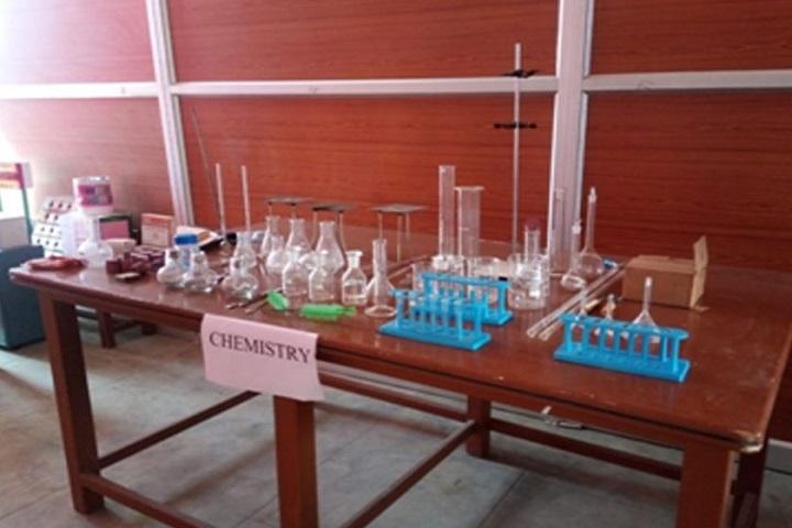 Sri Vinaya Public School-chemistry lab
