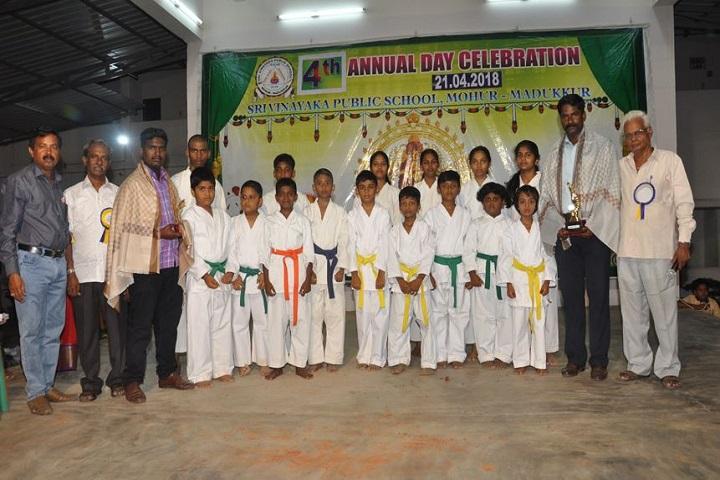 Sri Vinaya Public School-karatte