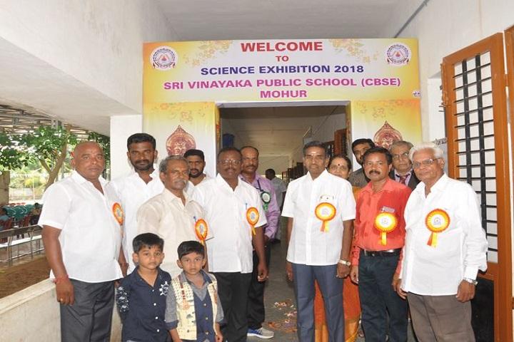 Sri Vinaya Public School-science exhibition