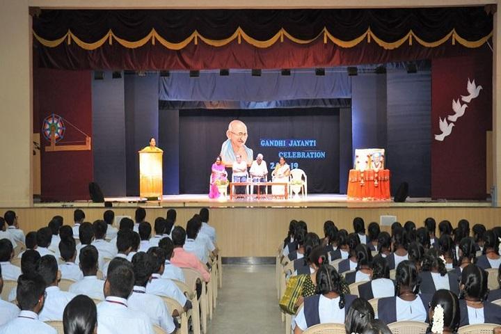 Srimathi Sundaravalli Memorial School-Gandhi Jayanthi