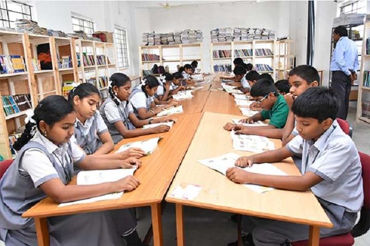 SRINIVASA PUBLIC SCHOOL-library