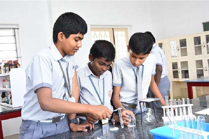 SRINIVASA PUBLIC SCHOOL-physics lab
