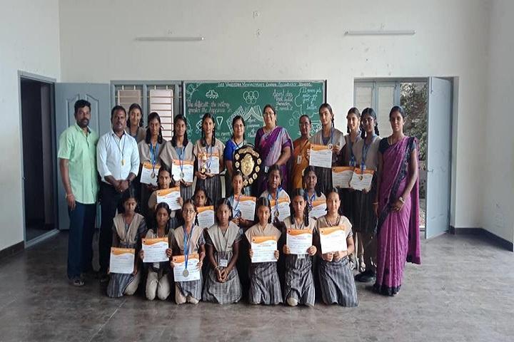 Sri Vageesha Vidhyashram-awards