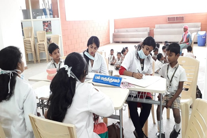 SRM Public School-Medical Camp Awareness