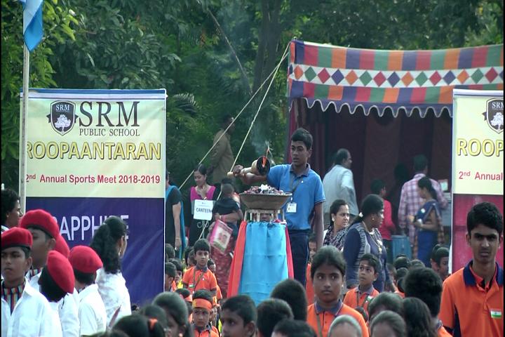 SRM Public School-Sports Day