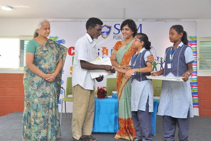 SRM Public School-Community Helpers Award