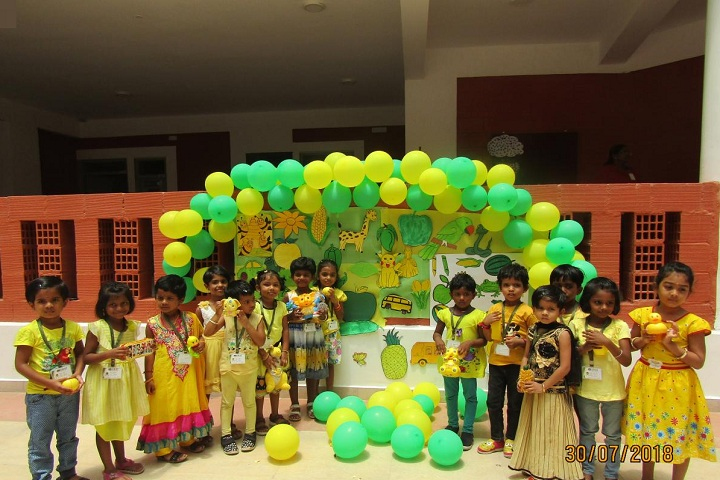 SRM Public School-Yellow Day