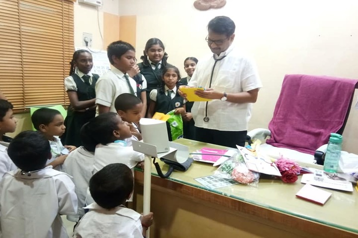 SRM Public School-Medical Checkup