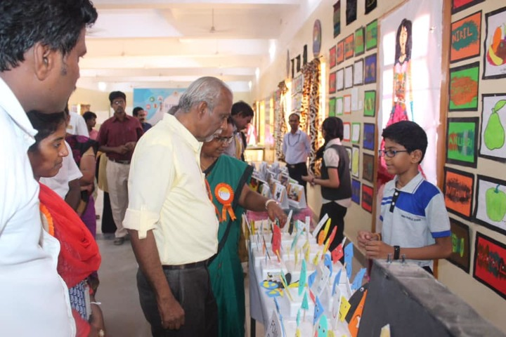 SRM Public School-Science Exhibition