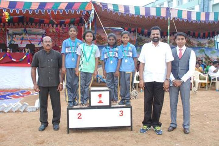 Srri SPK Senior Secondary School-Medal Distribution