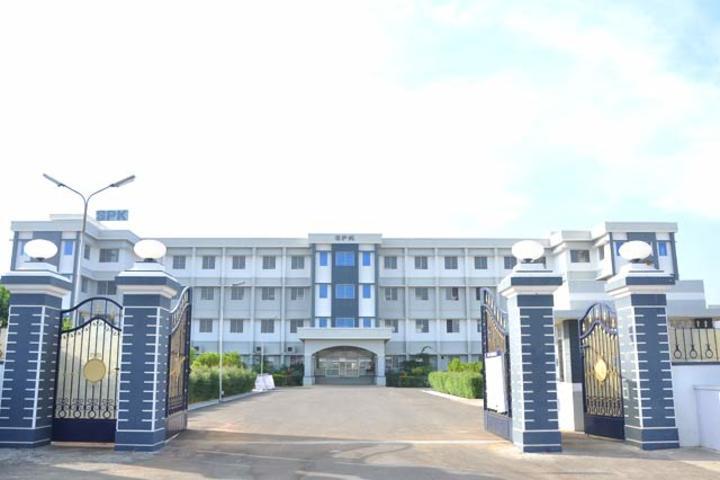 Srri SPK Senior Secondary School-School Campus View