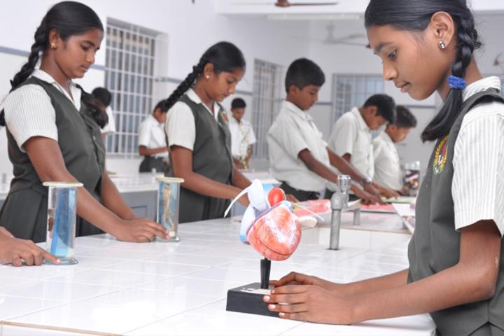 Srri SPK Senior Secondary School-Science Lab