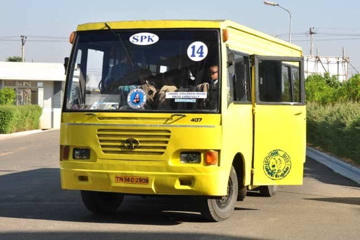 Srri SPK Senior Secondary School-Transport