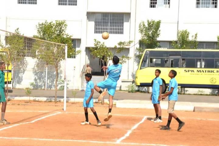 Srri SPK Senior Secondary School-Volley Ball