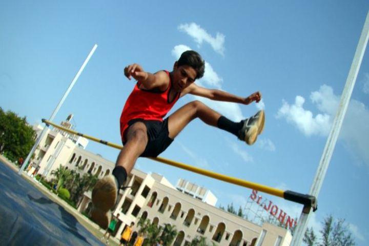St Johns International Residential School- Jumping