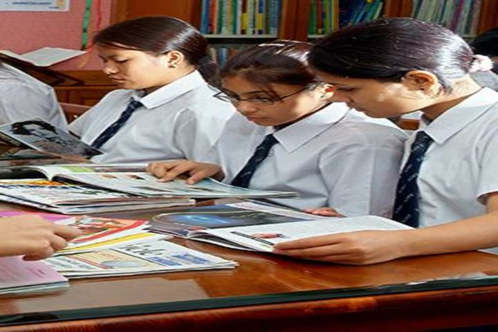 St Johns International Residential School- Library