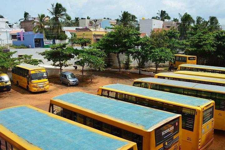 ST joseph calasanz CBSE school- school buses