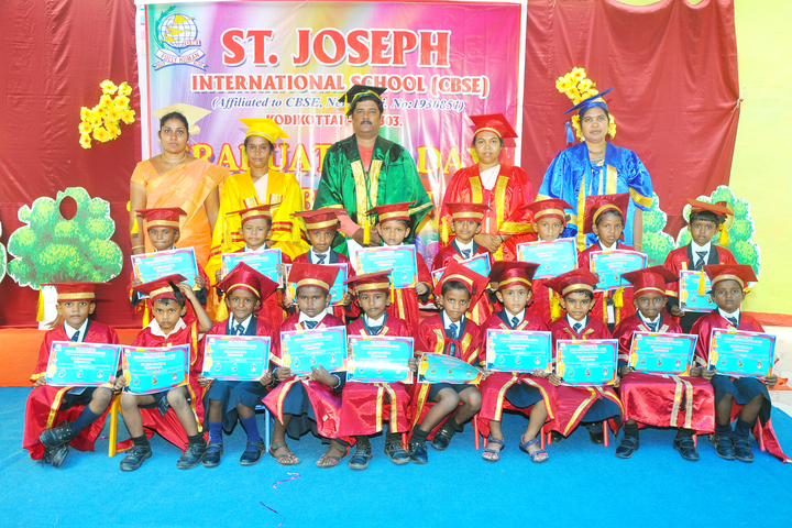 St Joseph International School- Graduation Day