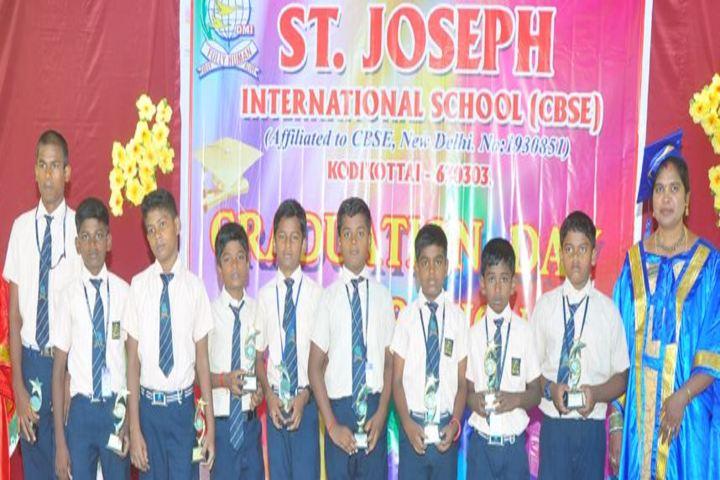 St Joseph International School- Prize Distribution