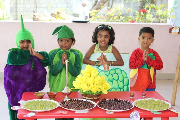 St Joseph Residential School- Fruits Day