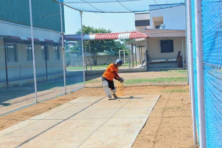 St Joan Of Arc International School-Cricket Pitch