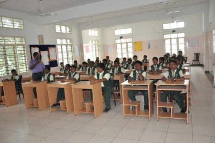 St Johns National Academy- Classroom