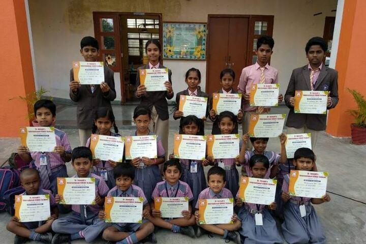 St Josephs International School- Certificate Distribution