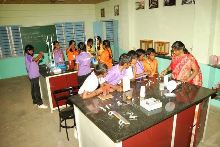 Subbiah Central School- Chemistry Lab