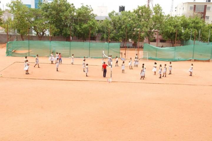 Subbiah Central School- Volley Ball
