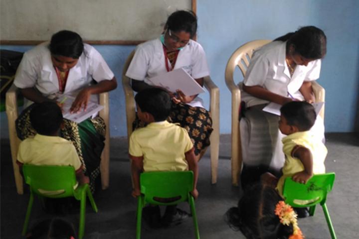 Subham Vidhyalayaa -Medical Check Up