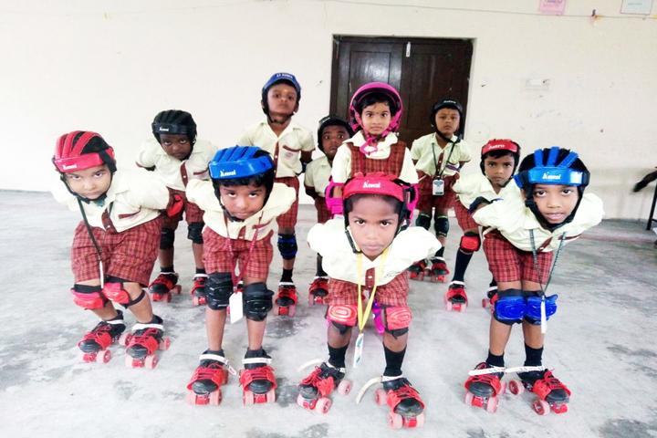 Subham Vidhyalayaa- Skating