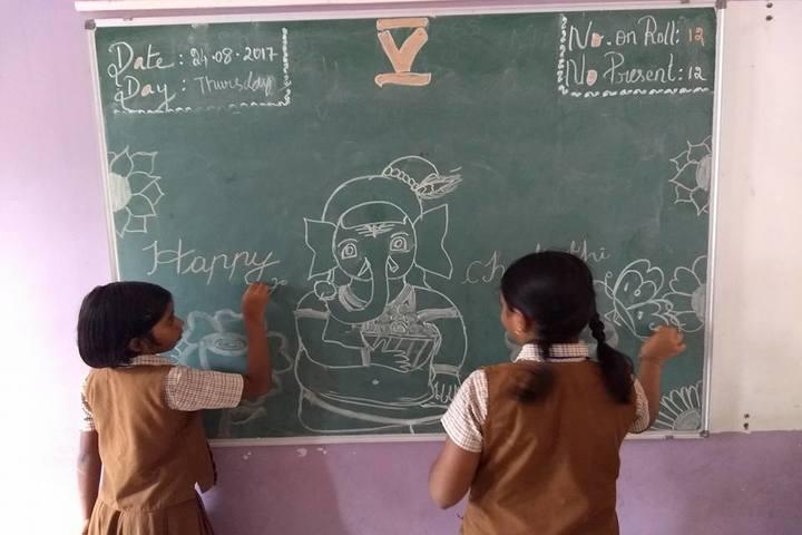 Sudharsan Vidhya Vikas- Board Decoration