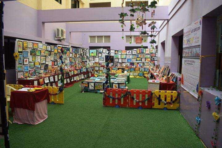 Sudharsanam Vidyaashram- Art Exhibition