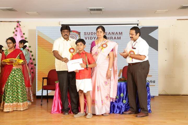 Sudharsanam Vidyaashram- Medal Distribution