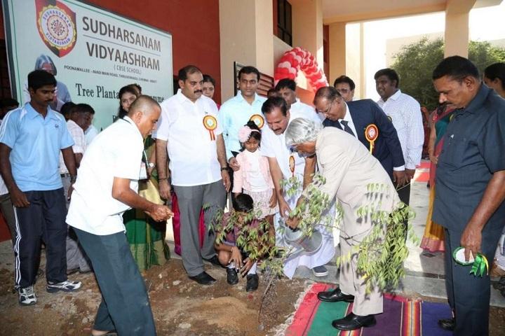 Sudharsanam Vidyaashram- Plantation