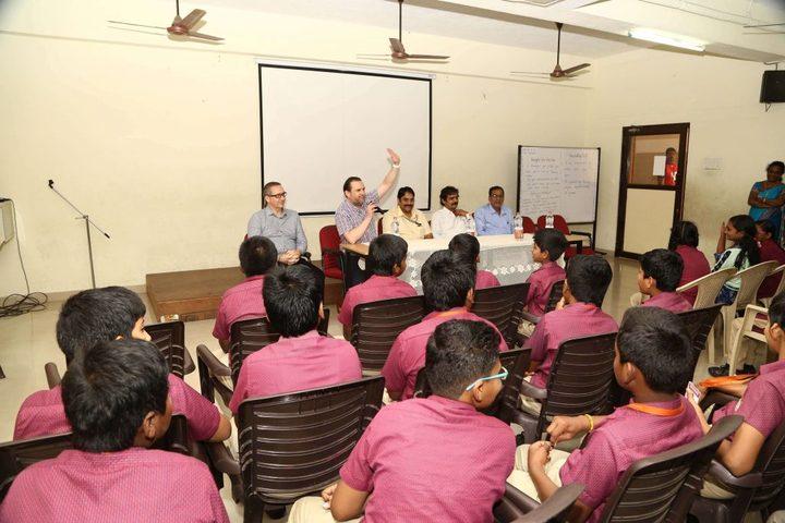 Sudharsanam Vidyaashram- Workshop