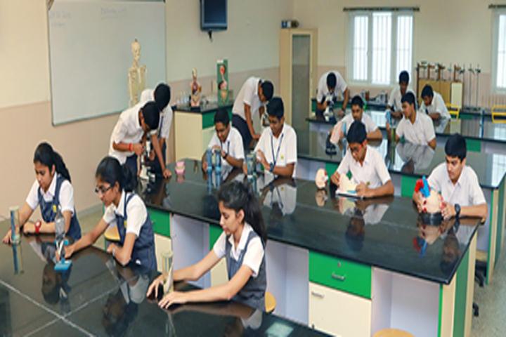 Suguna PIP School- Biology Lab