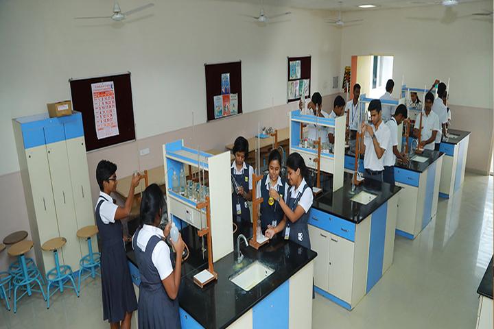 Suguna PIP School- Chemistry Lab