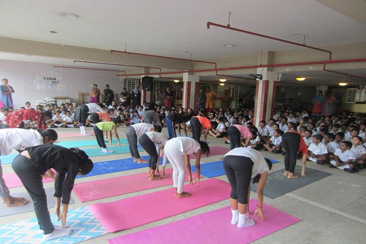 Sunshine Chennai Senior Secondary School- Yoga