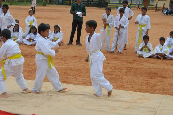 Swami Vivekananda Vidyamandir School- Karate