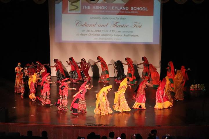 The Ashok Leyland School- Events