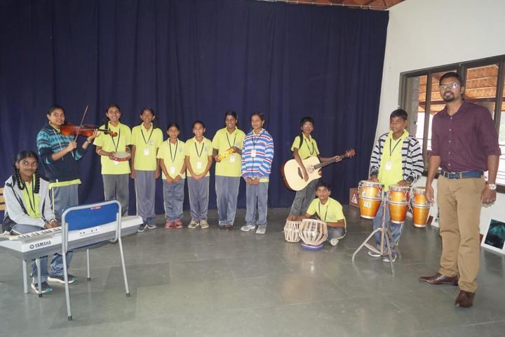 The Ashok Leyland School- Music