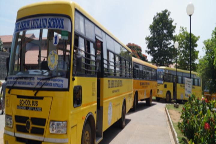 The Ashok Leyland School- Transport