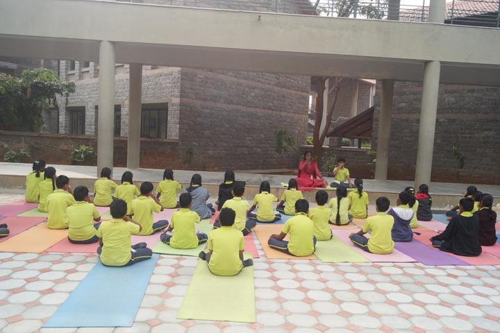 The Ashok Leyland School- Yoga