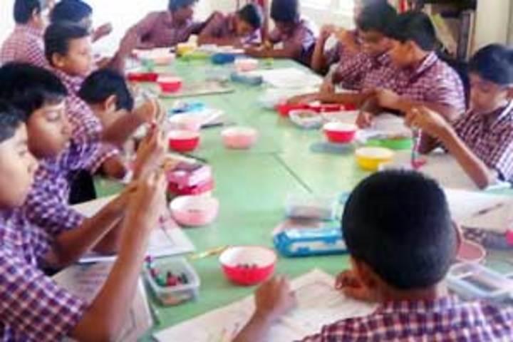 The B V B School-Art and Craft