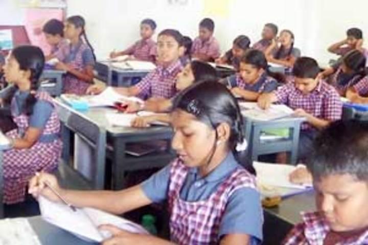 The B V B School-Classroom