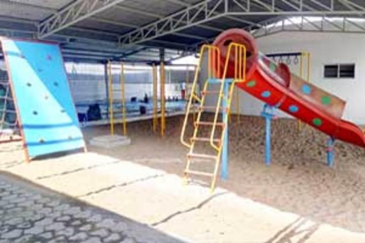 The B V B School-Kids Play Area
