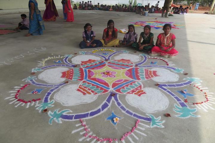 The Childplan Academy- Rangoli