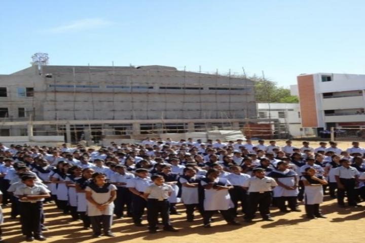 The Hindu Senior Secondary School- Assembly